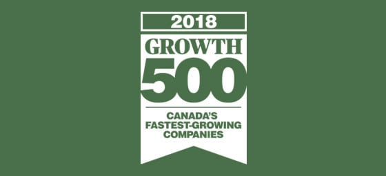 2018 Growth 500 - Canada's Fastest Growing Companies