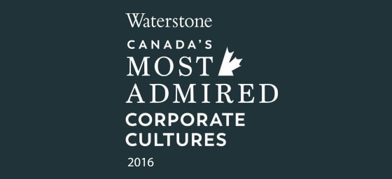 Canada's Most Admired Corporate Cultures 2016